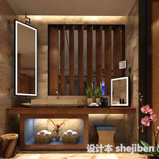 卫生间镜子3d模型下载