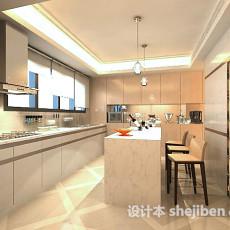 整体厨房3d模型下载