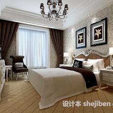 卧室0373d模型下载