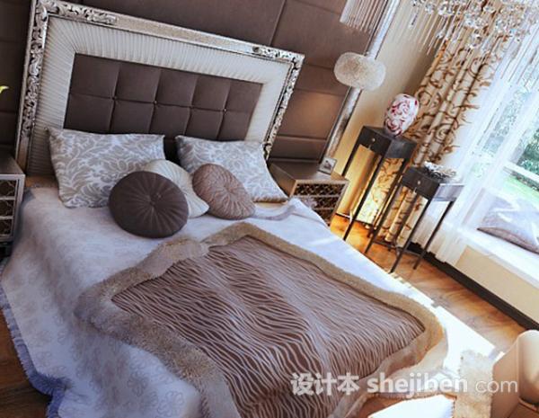 卧室3D模型下载12
