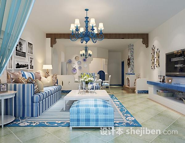 客厅3d吊灯模型