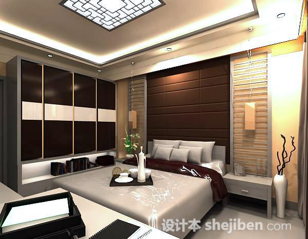 卧室3dmax模型下载