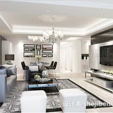 客厅室内植物3d模型下载