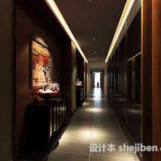 酒店走廊3d模型下载