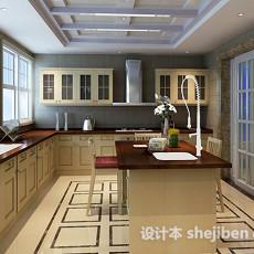 开放式厨房23d模型下载