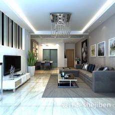 客厅绿植3d模型下载