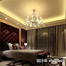 欧式卧室吊顶3d模型下载