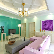 室内房间3d模型下载