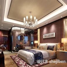 混搭卧室3d模型下载