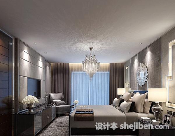 欧式卧室模型下载