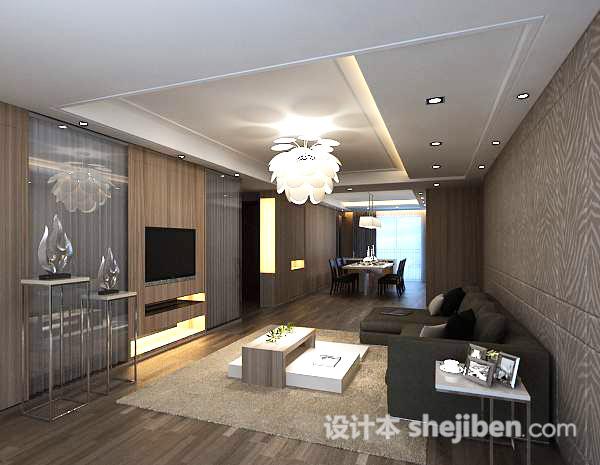 简单3d客厅模型