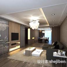 简单客厅3d模型下载