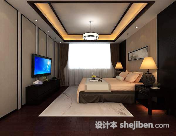 3d卧室模型下载