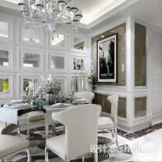 欧式风格餐厅3d模型下载