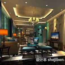 客厅家具3d模型下载