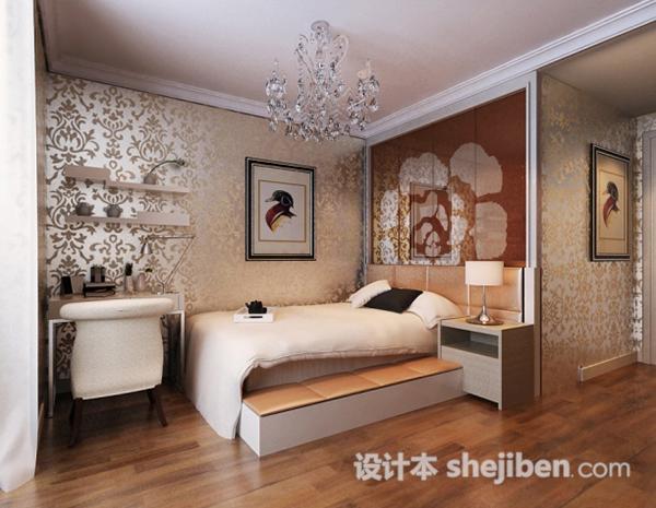 3d卧室模型免费下载