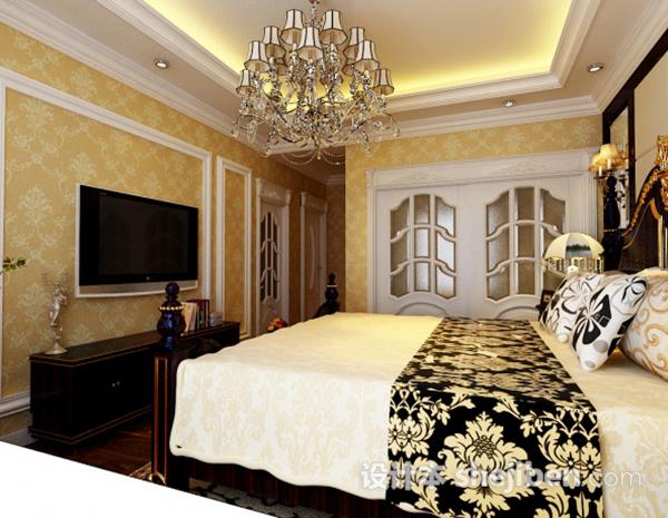 欧式卧室灯3d模型