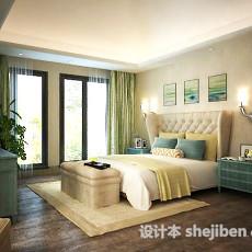 卧室书房3d模型下载