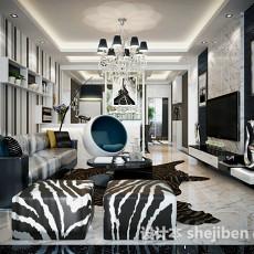 客厅设计3d模型下载