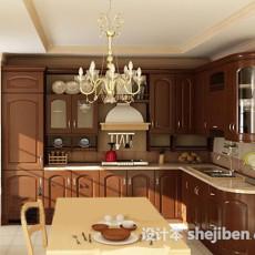 厨房整套3d模型下载