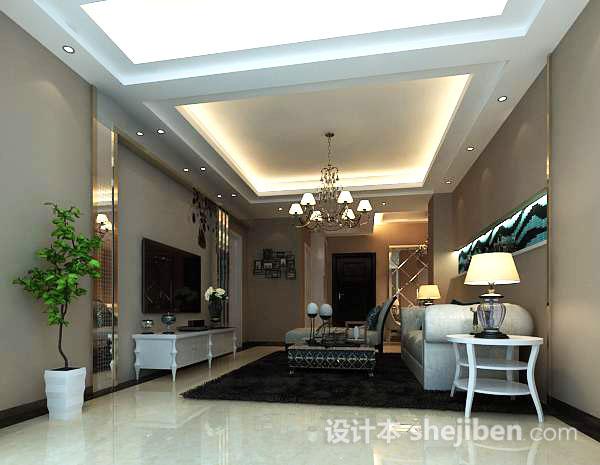 室内客厅模型下载