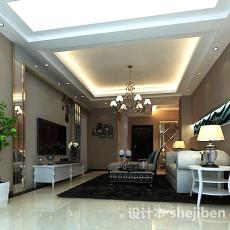 室内客厅3d模型下载