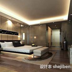 简约卧室3d模型下载
