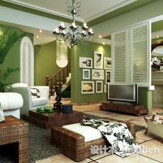 max欧式客厅3d模型下载