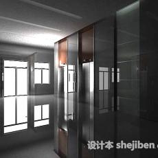 电梯间3d模型下载