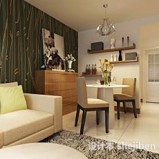 现代家居餐厅3d模型下载