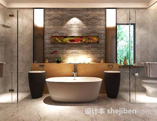 浴缸模型 下载