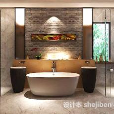 浴缸 3d模型下载