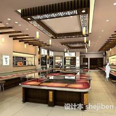 中式珠宝店3d模型下载