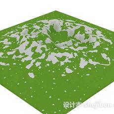 山体地形3d模型下载