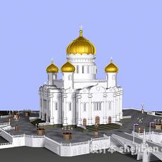 伊斯兰城堡3d模型下载