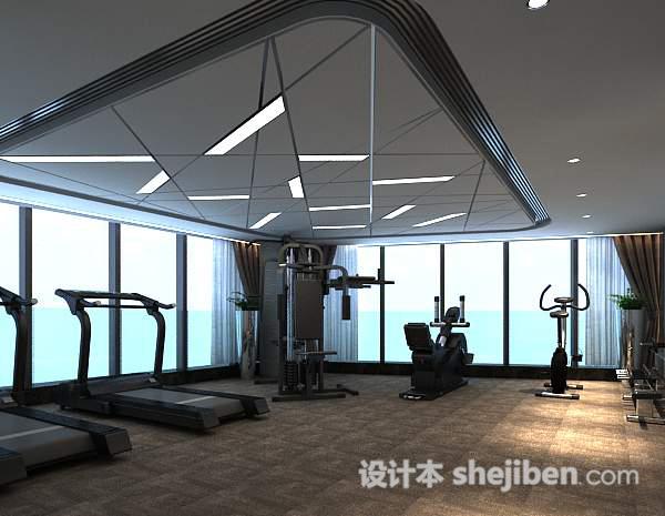 健身房整体模型
