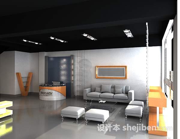 3d展厅模型-展厅设计模型下载