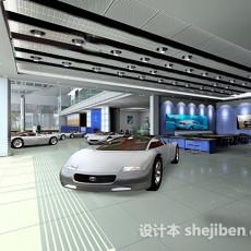 汽车展厅3d模型下载