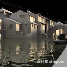 中国古代建筑3d模型下载