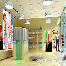女装店3d模型下载