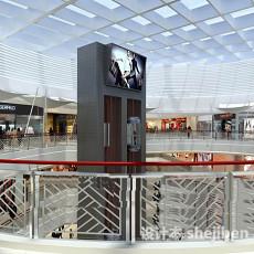 商场3d模型下载