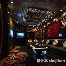 酒吧KTV沙发3d模型下载