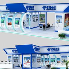 中国电信展厅3d模型下载