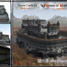 科幻城市3d模型下载