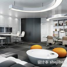 办公室室内3d模型下载