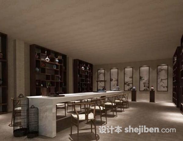 画室3d模型