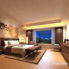 酒店房间3d模型下载