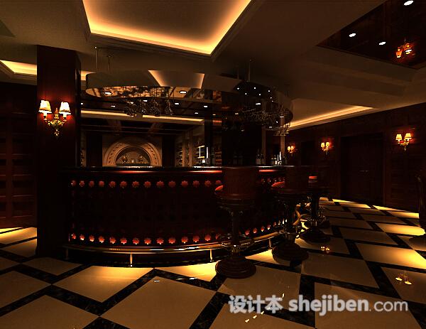 酒吧模型下载