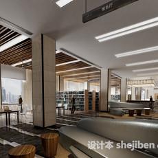 阅览室3d模型下载