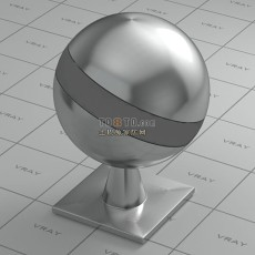 3dmax不锈钢材质